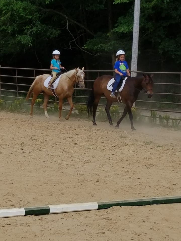 Summer Horse Camp Kids Camp Raintree Equestrian Center